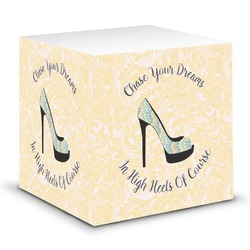 High Heels Sticky Note Cube