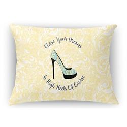 High Heels Rectangular Throw Pillow Case