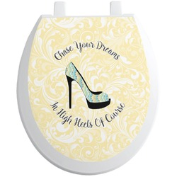 High Heels Toilet Seat Decal