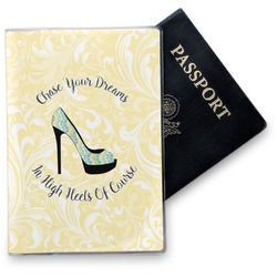 High Heels Vinyl Passport Holder