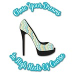 High Heels Graphic Decal - Custom Sizes