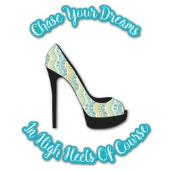 High Heels Graphic Decal - Custom Sized