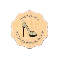 High Heels Genuine Maple or Cherry Wood Sticker