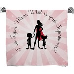 Super Mom Full Print Bath Towel
