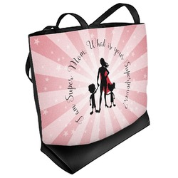 Super Mom Beach Tote Bag