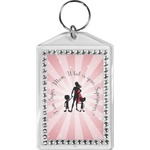Super Mom Bling Keychain