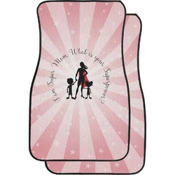 Super Mom Car Floor Mats (Front Seat)