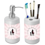Super Mom Bathroom Accessories Set (Ceramic)