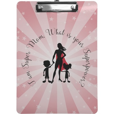 Super Mom Clipboard (Letter Size)