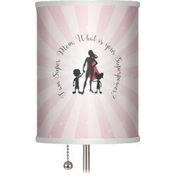 """Super Mom 7"""" Drum Lamp Shade"""
