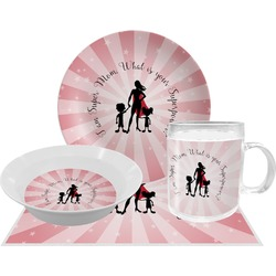 Super Mom Dinner Set - 4 Pc