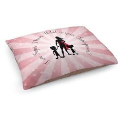 Super Mom Dog Pillow Bed