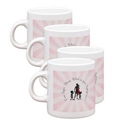 Super Mom Espresso Mugs - Set of 4
