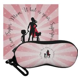 Super Mom Eyeglass Case & Cloth