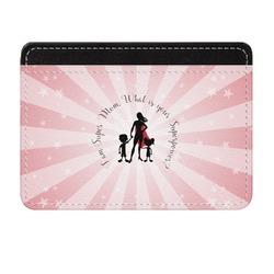 Super Mom Genuine Leather Front Pocket Wallet