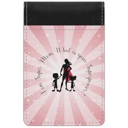 Super Mom Genuine Leather Small Memo Pad