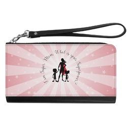 Super Mom Genuine Leather Smartphone Wrist Wallet