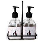 Super Mom Soap & Lotion Dispenser Set (Glass)