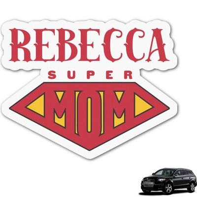 Super Mom Graphic Car Decal