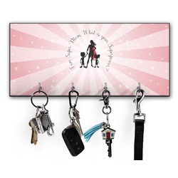Super Mom Key Hanger w/ 4 Hooks