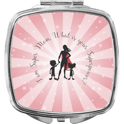 Super Mom Compact Makeup Mirror