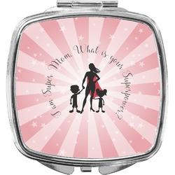 Super Mom Compact Makeup Mirror