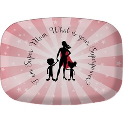Super Mom Melamine Platter