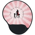 Super Mom Mouse Pad with Wrist Support