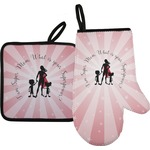 Super Mom Oven Mitt & Pot Holder