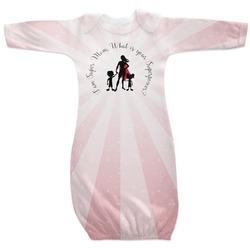 Super Mom Newborn Gown