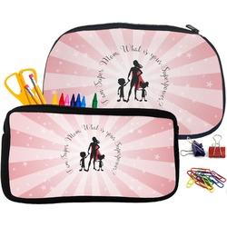 Super Mom Pencil / School Supplies Bag