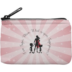Super Mom Rectangular Coin Purse