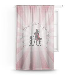 Super Mom Sheer Curtains