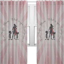 Super Mom Sheer Curtains