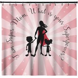 Super Mom Shower Curtain