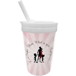 Super Mom Sippy Cup with Straw