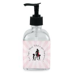 Super Mom Soap/Lotion Dispenser (Glass)