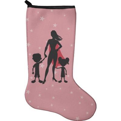 Super Mom Holiday Stocking - Neoprene