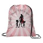 Super Mom Drawstring Backpack