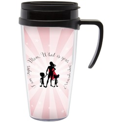 Super Mom Travel Mug with Handle