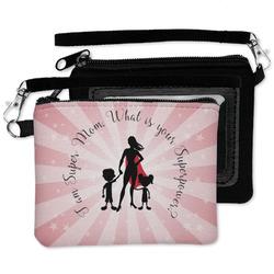 Super Mom Wristlet ID Case