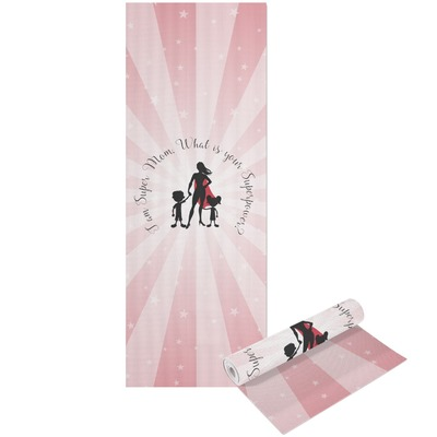 Super Mom Yoga Mat - Printable Front and Back
