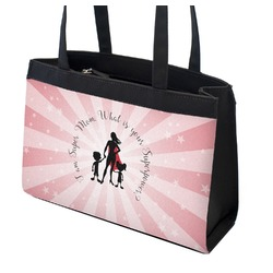 Super Mom Zippered Everyday Tote