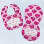 Love You Mom Baby Bib & Burp Set