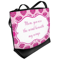 Love You Mom Beach Tote Bag