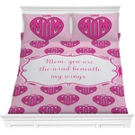 Love You Mom Comforter Set