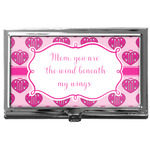 Love You Mom Business Card Case