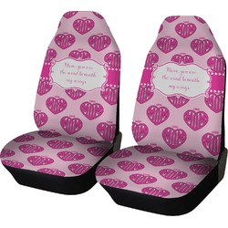 Love You Mom Car Seat Covers (Set of Two)