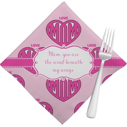 Love You Mom Napkins (Set of 4)