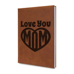 Love You Mom Leatherette Journal